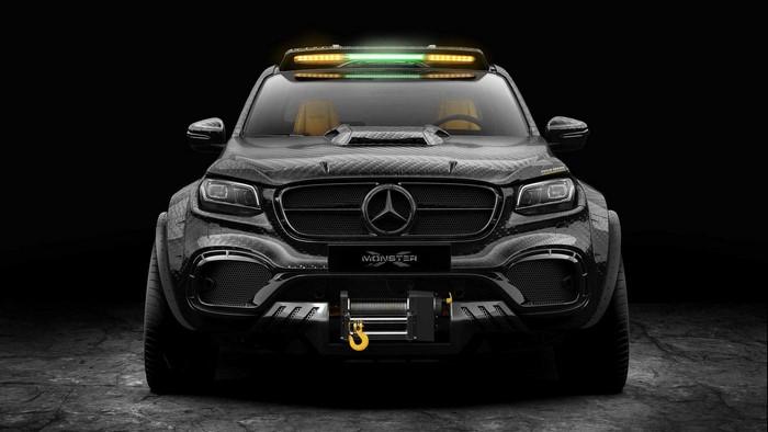 Pickup Design Exy Monster X Concept Mercedes-Benz X-Class