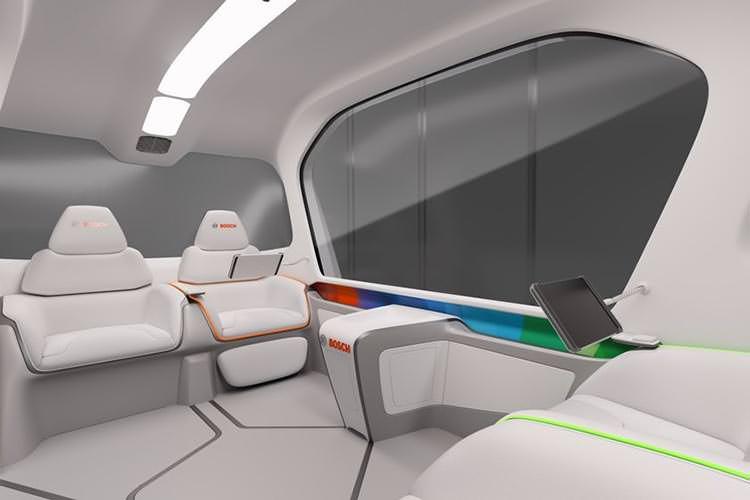 bosch autonomous car / خودروی خودران بوش