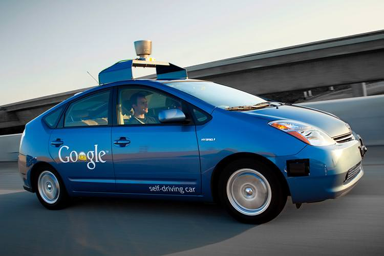 self-driving Toyota Prius / تویوتا پریوس خودران گوگل
