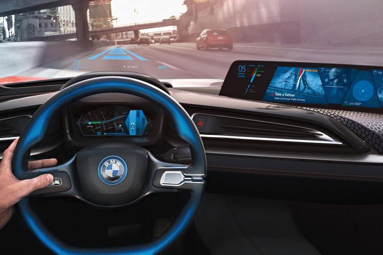 خودروی خودران BMW