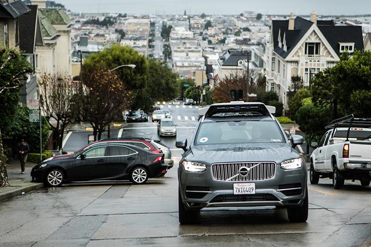 Toyota Uber autonomous car / تویوتا اوبر خودروی خودران
