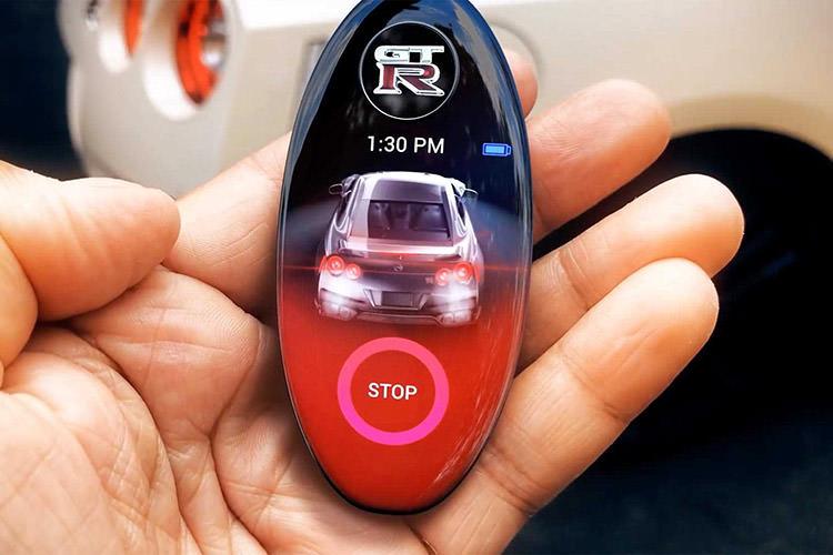 Nissan GT-R Key Fob / کلید هوشمند نیسان GTR