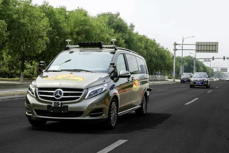 Mercedes-Benz self-driving vehicle / خودروی خودران مرسدس بنز