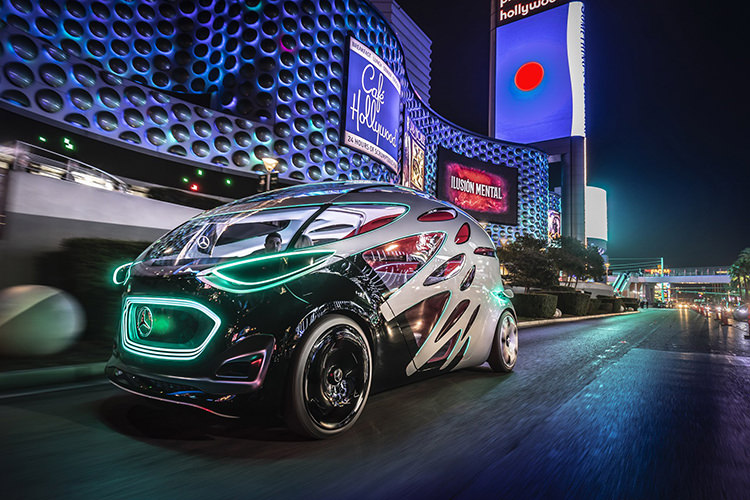 Mercedes Benz Vision Urbanetic / مرسدس بنز ویژن اوربانتیک