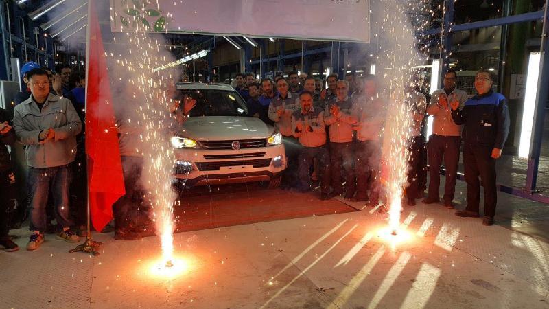 افتتاح خط تولید هان تنگ در بروجرد