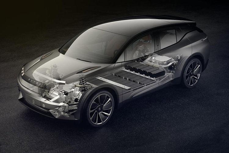 Byton electric car / خودروی الکتریکی بایتون