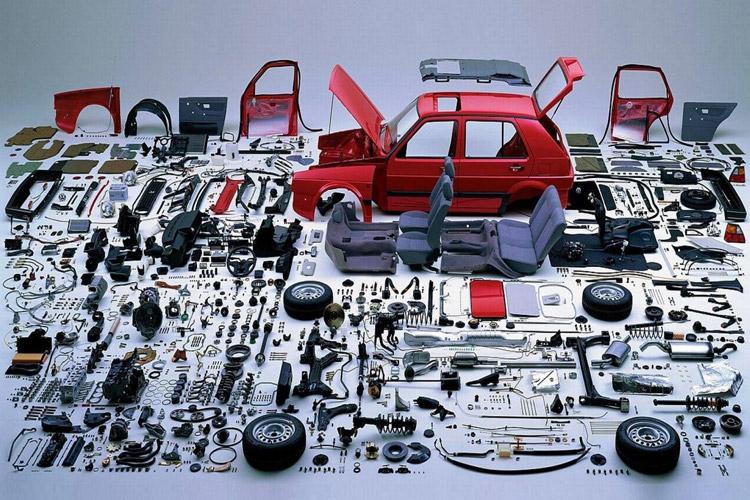 خودرو قطعات داخلی سازی