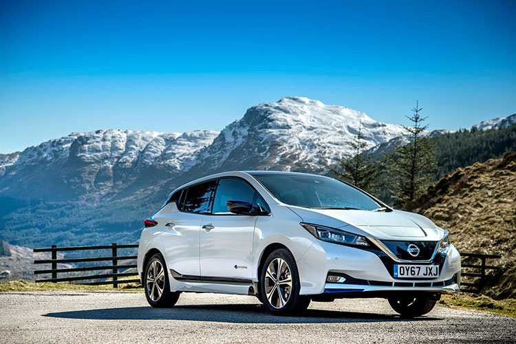 2018 Nissan LEAF / خودروی الکتریکی نیسان لیف 2018