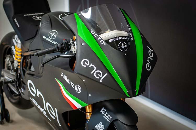 Energica Ego Corsa / موتورسیکلت برقی انرجیکا
