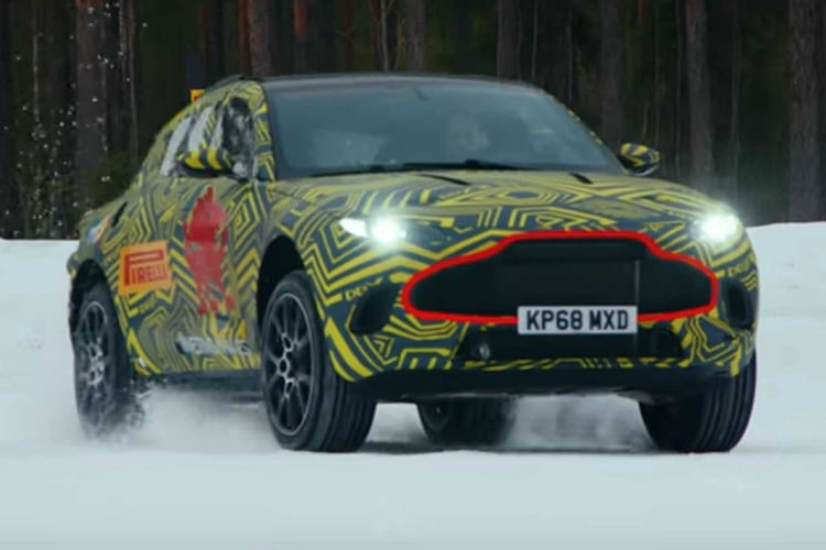 Aston Martin DBX / استون مارتین شاسی بلند