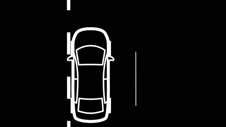 Lane-Departure Warning / هشدار انحراف خط