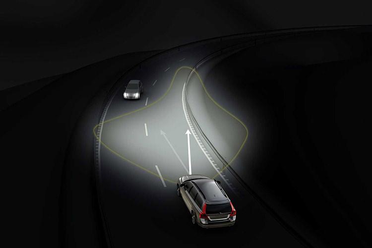 Adaptive Headlights / چراغهای جلوی انطباقی