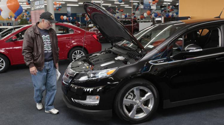 خودروی الکتریکی / electric car