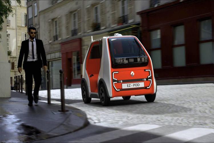 Renault EZ-Pod Autonomous car / خودرو خودران رنو