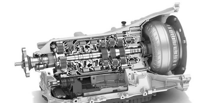 ZF 8HP transmission