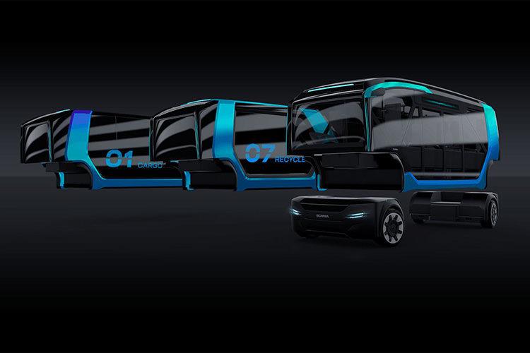 Scania NXT Autonomous car Concept / خودرو خودران مفهومی اسکانیا