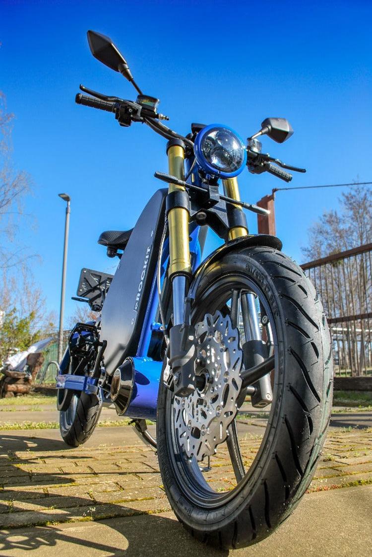 eRockit e-moto / دوچرخه برقی موتورسیکلت برقی