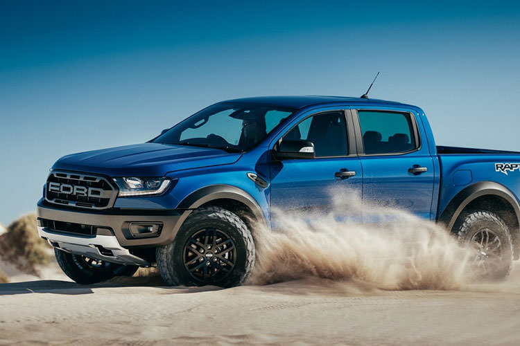 ford Ranger Raptor pickup / وانت پیکآپ فورد رنجر رپتور 2018
