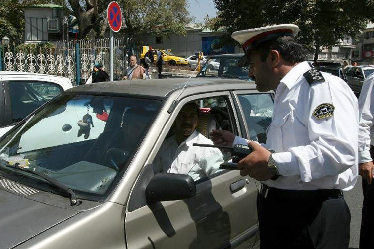 خلافی خودرو تخلفات رانندگی پلیس راهور