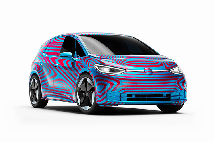 VolkswagenElectric car / خودروی الکتریکی فولکس واگن