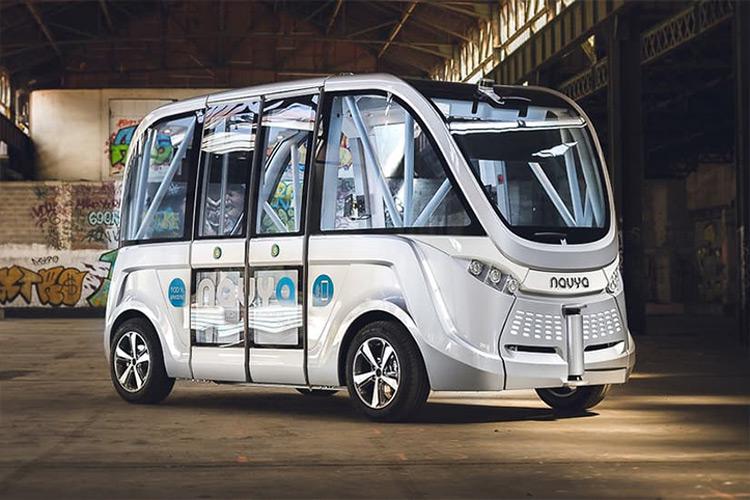اتوبوس خودران Navya