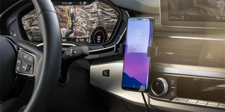 فناوری خودرو شارژر گوشی هوشمند تلفن همراه
