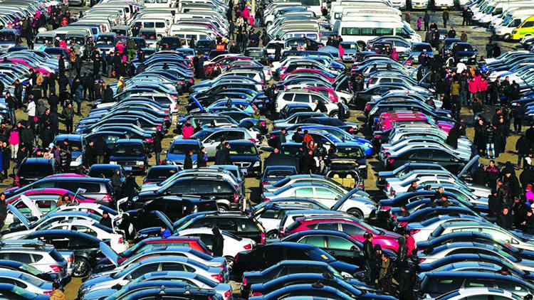 China car market / بازار خودرو چین