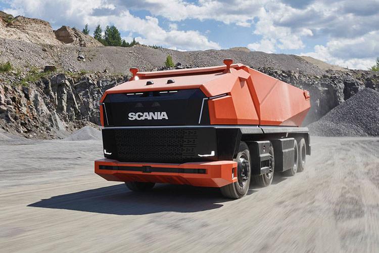 Scania Autonomous Truck / کامیون خودران اسکانیا