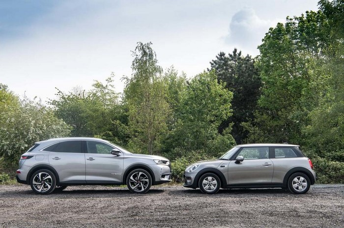 DS7 vs Mini cooper drive quality Test