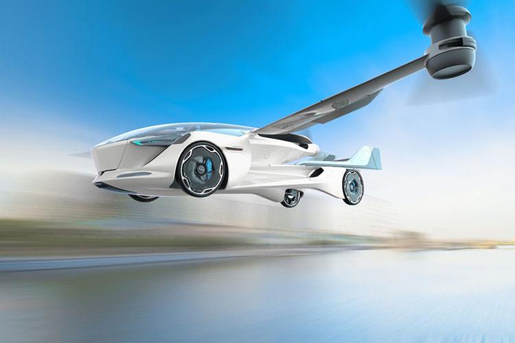 AeroMobil flying car / ماشین پرنده ایروموبیل