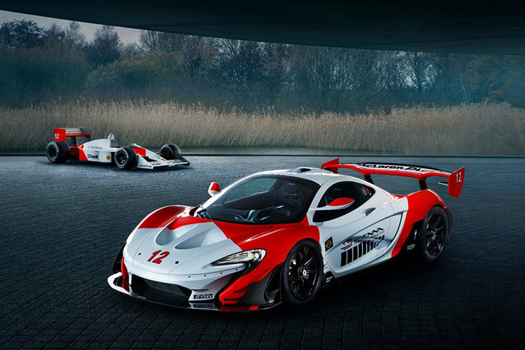 McLaren P1 GTR / مک لارن P1 GTR