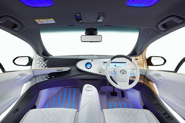 Toyota LQ concept / خودروی مفهومی خودران تویوتا ال کیو