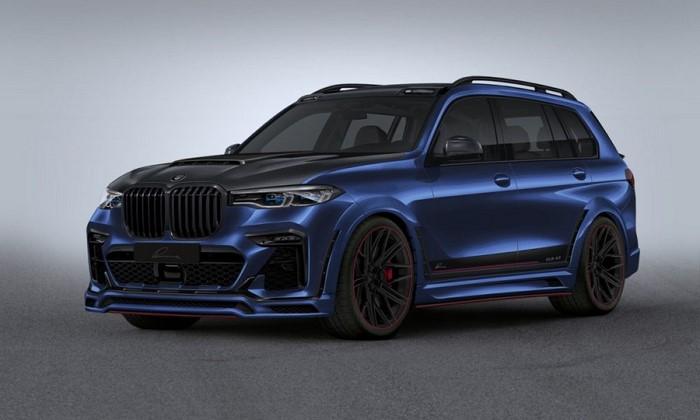 BMW X7 Lumma design