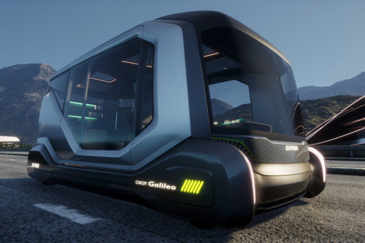 Hymer Galileo Concept / خانه متحرم مفهومی خودران هایمر گالیلئو