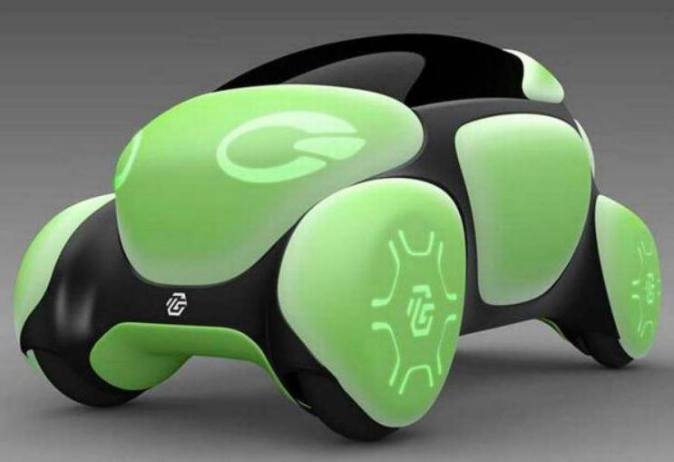 خودروی پلاستیکی تویودا