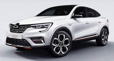 معرفی خودروی مفهومی رنو سامسونگ XM3 اینسپایر
