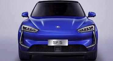 مدل تولیدی کراس اور برقی چینی SF5 معرفی شد