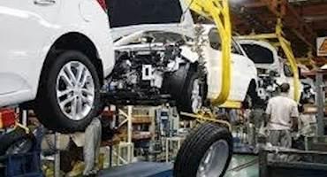 کاهش ۳۷.۸درصدی تولید پارسال انواع خودرو