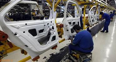 نزول صنعت خودرو ایران به رتبه ۱۸ جهان با افت ۴۰ درصدی تولید + جدول