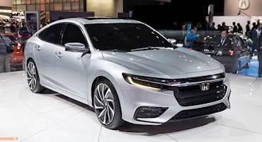 نمونه اولیه Honda Insight در نمایشگاه دترویت 2018