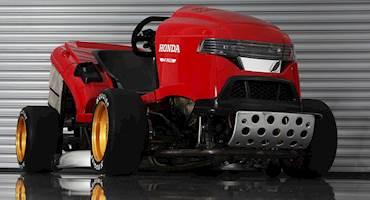 هوندا برای ثبت رکورد جهانی سریعترین ماشین چمنزنی آماده میشود