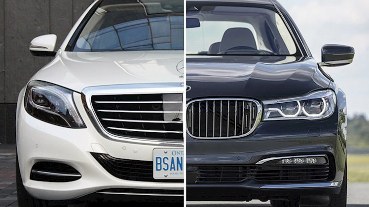 مقایسه مرسدس بنز کلاس اس ۲۰۱۶ و بی ام دبلیو سری ۷ مدل ۲۰۱۷