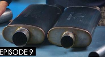 اربابان موتور (آزمایش قدرت ۶۲۰ اسب بخاری با منبع اگزوز ۶ سانتی و ۸ سانتی)