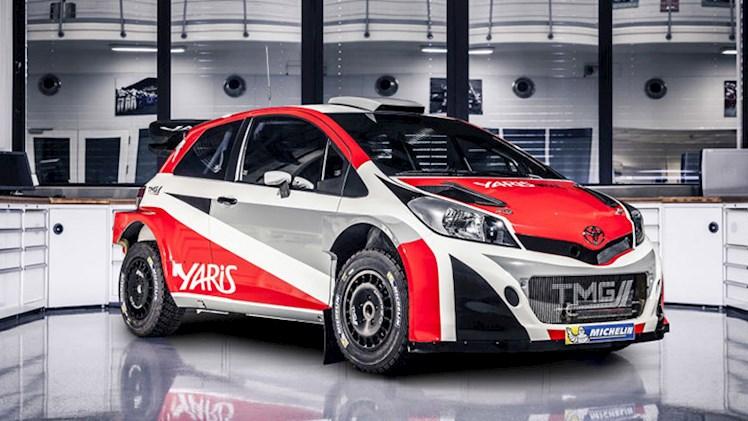 تویوتا یاریس WRC در نمایشگاه ماشین پاریس رونمایی شد