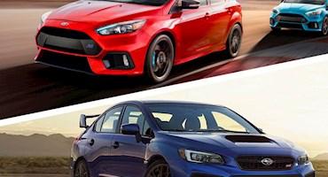 مقایسه سوبارو WRX STI مدل 2018 و فورد فوکس RS مدل 2018، جنگجویانی با فناوری رالی - بخش دوم