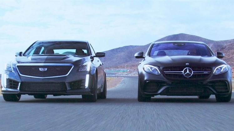 مقایسه بنز2018 AMG E63 S و کادیلاک 2017 Cadillac CTS