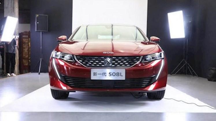 معرفی پژو 508L کشیده در نمایشگاه گوانگژو چین