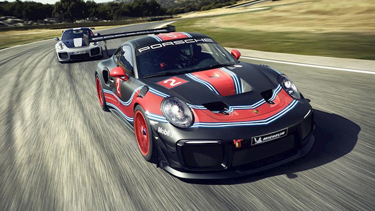 پورشه 911 GT2 RS Clubsport رونمایی شد