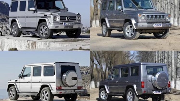 معرفی فاحشترین خودروهای کپی چینی
