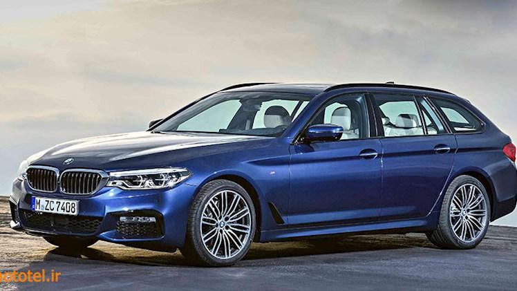 بررسی BMW 5 Series Touring 2018 - استیشن همچی تمام!